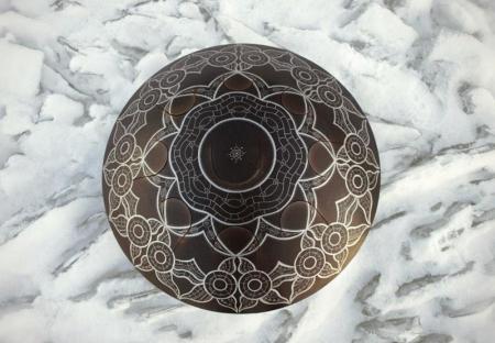 Стальной язычковый барабан Гуда. Морская звезда