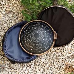 Ethnic design. Coin. Matt black1
