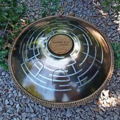 Labirint design. Bronze finish0