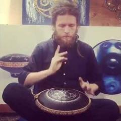 "Pasha Aeon Handpan  ""Great sound of Guda Drum, Celtic minor scale"""