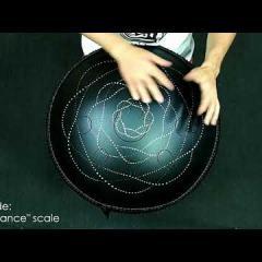 """Guda Double. """"Zen Trance"""" scale / """"Equinox"""" scale."""
