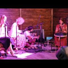 "Zen Percussion+""Kudrikosi""/""Не из саду было""(Guda drum, Single Bowls, Crystal Harp, Ethnic vocal)"