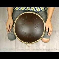 Guda Coin Brass overtone tongue pan. Major in E/African in C# scale