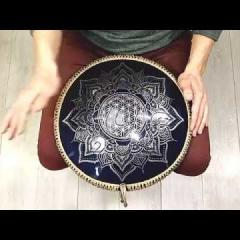 Guda Ortus Brass. Lowbery scale. Flower of life design (A=432Hz)