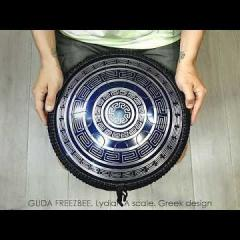 Guda Freezbee. Lydian A scale. Greek design