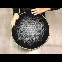 Guda 2.0 Plus. Enigma scale. Flower of life design