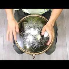 Guda Freezbee. Tonus in A scale. Ice Flower custom design
