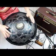 Guda Double Fx with Orbis Quattro pedal. Celtic in E/Dorian in A scales