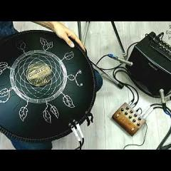 Guda Double FX. Zen Trance/Equinox scale with new effect/preamp/mixer pedal.