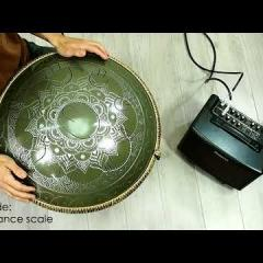 Guda Double FX. ZenTrance scale / Equinox scale (in the frequency of A=432Hz)
