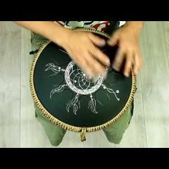 Guda Ortus. Enigma scale. Dreamcatcher design.