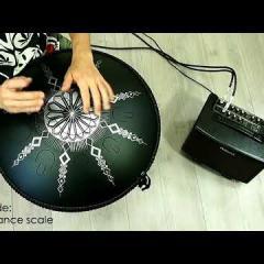 Guda Double FX. Zen Trance scale / Gypsy Minor scale.