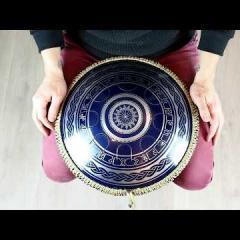Guda Freezbee. African in A scale, Nordic design, dark blue finish