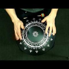 "GUDA ""Ortus"" DRUM new model prototype. Full alumimium"