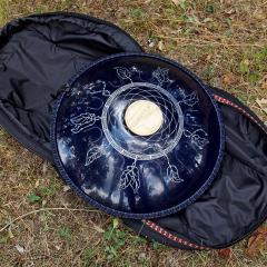 Dreamcatcher design dark blue