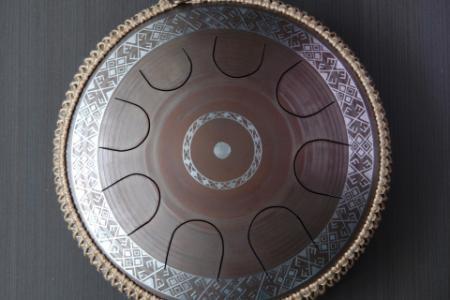 язычковый барабан Фризби. Украинский дизайн. Строй Equinox. фото 1