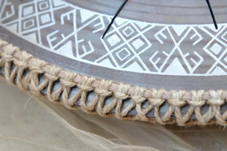язычковый барабан Фризби. Украинский дизайн. Строй Equinox. фото 4