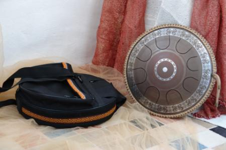 язычковый барабан Фризби. Украинский дизайн. Строй Equinox. фото 5