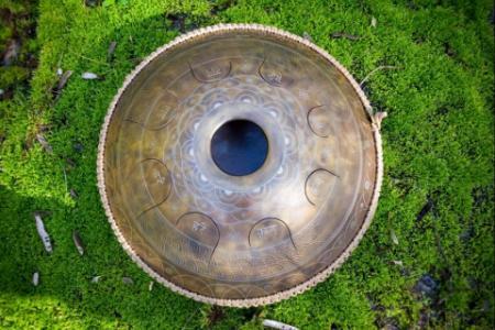 Плетеный аксессуар для хэндпанов и язычковых барабанов 9