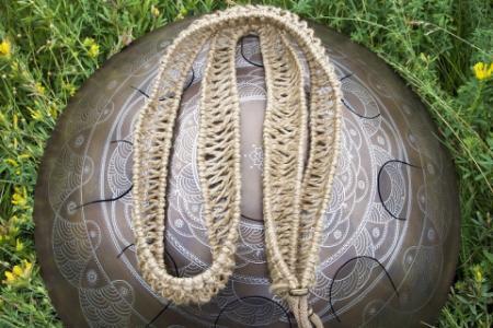 Плетеный аксессуар для хэндпанов и язычковых барабанов 3