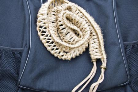 Плетеный аксессуар для хэндпанов и язычковых барабанов 12