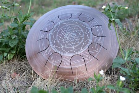 Гуда Фризби. Дизайн Sri-Yantra. фото 4