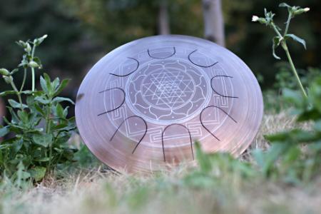 Гуда Фризби. Дизайн Sri-Yantra. фото 6