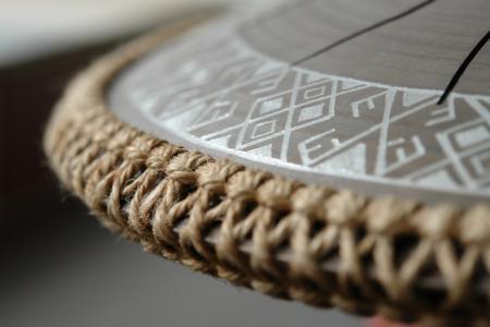 язычковый барабан Фризби. Украинский дизайн. Строй Equinox. фото 3
