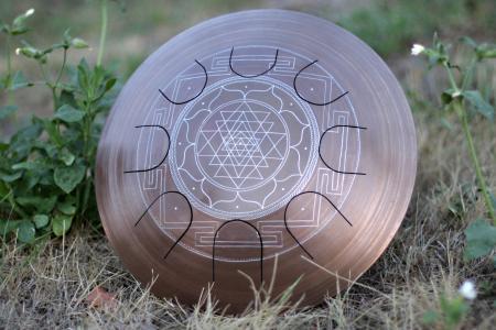 Гуда Фризби. Дизайн Sri-Yantra. фото 3